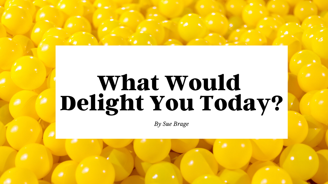 What Would Delight You Today?